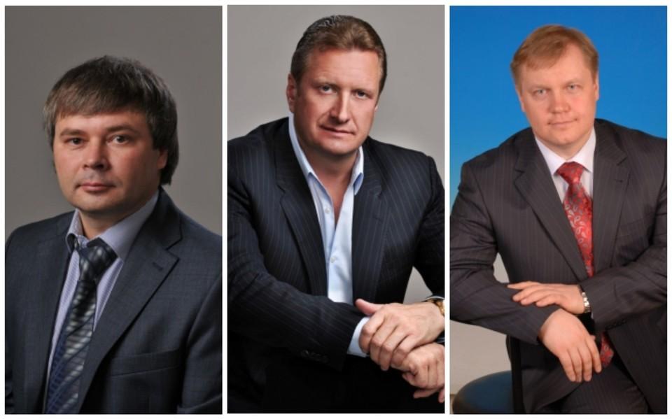 Юрий Сандин, Олег Смирнов и Олег Шишов.