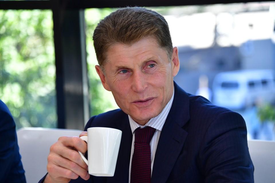 Губернатор Приморья Олег Кожемяко задекларировал 23,6 млн рублей дохода за 2020 год.