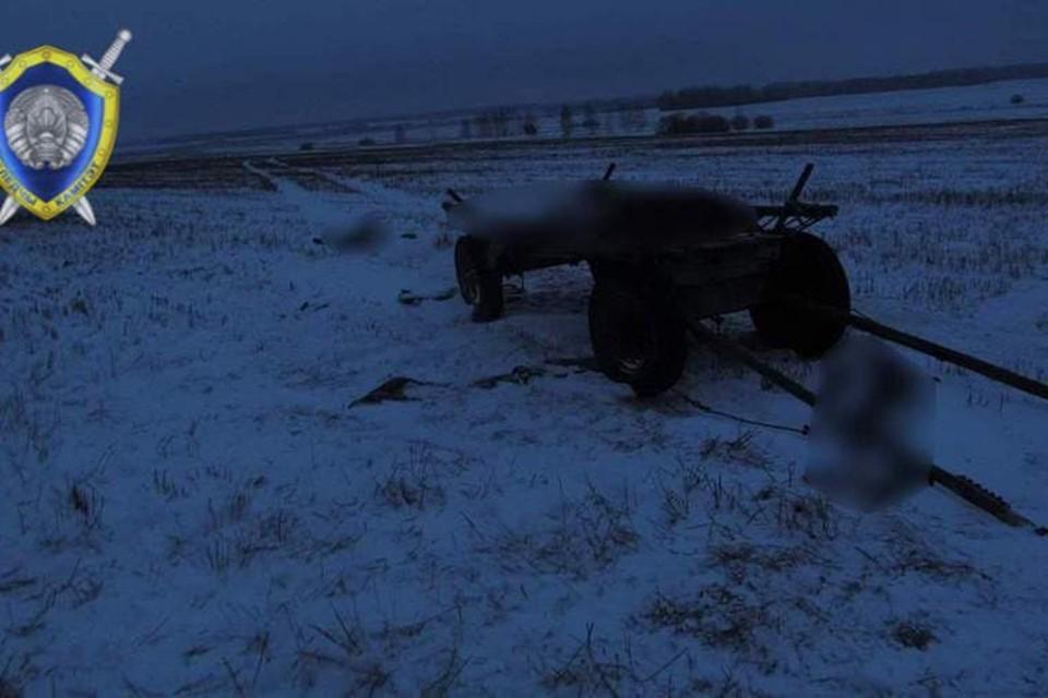 Троих человек нашли рядом с телегой и распряженной лошадью, они были мертвы. Фото: СК.