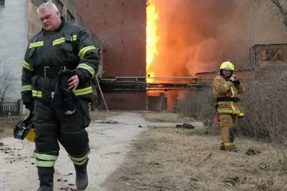 В России участились пожары на мусорных полигонах