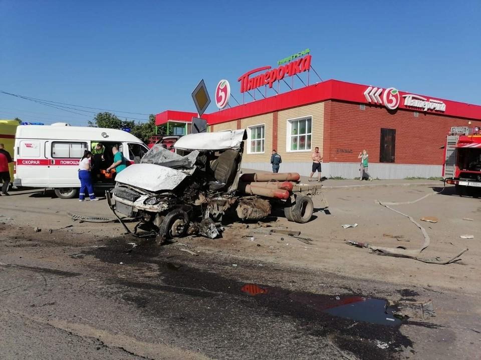 Погибшему водителю Ford было 45 лет. Фото: ГИБДД по Челябинской области