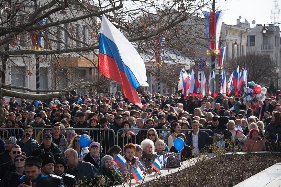 Свой выбор Крым сделал в марте 2014-го