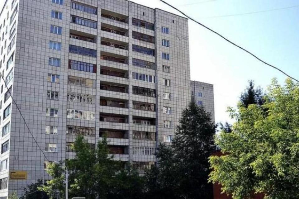 Та самая многоэтажка. Фото: Яндекс карты.