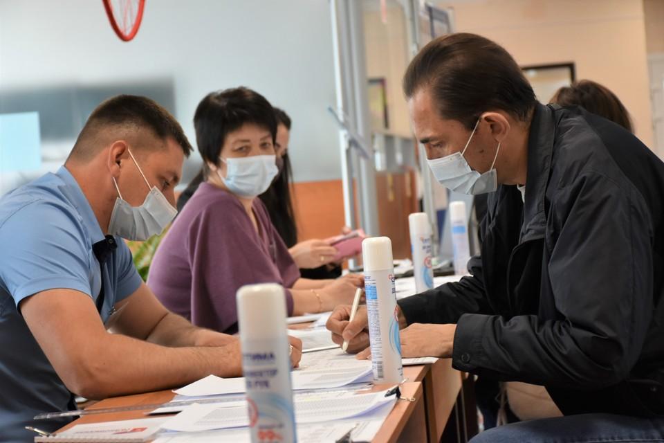 В Сахалинской области 30 мая прошло очное голосование на праймериз по выбору кандидатов в депутаты Госдумы