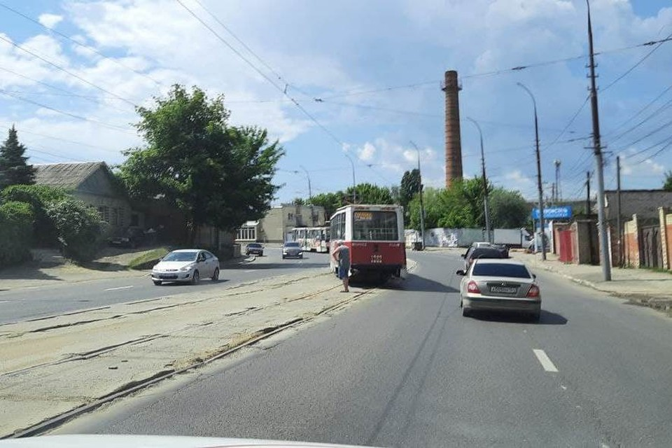Фото из телеграм-канала «ЧП Саратов»