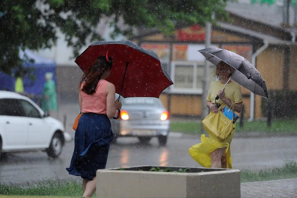 Непогода в регионе ожидается завтра, 31 мая