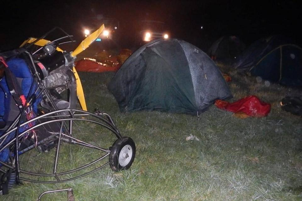 За жизнь екатеринбуржца, пострадавшего во время крушения мотопараплана, сейчас борются врачи Фото: УрСУТ СК