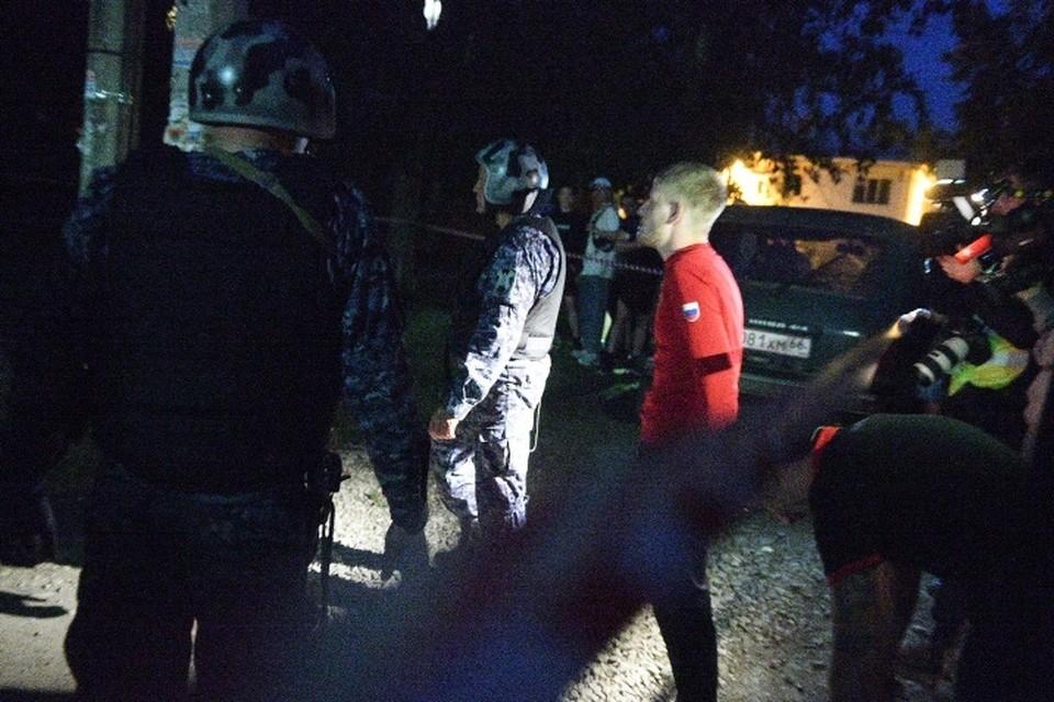 Сергей Боков был задержан в тот же вечер