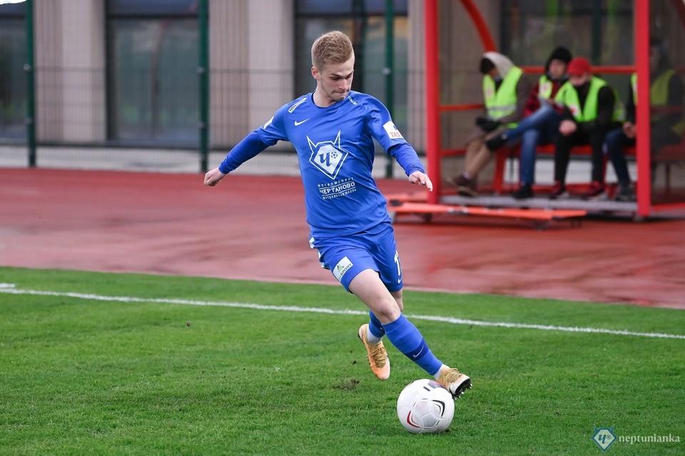 В «Крыльях» может оказаться еще один игрок из «Чертаново». Фото: ФК «Чертаново» (Москва).