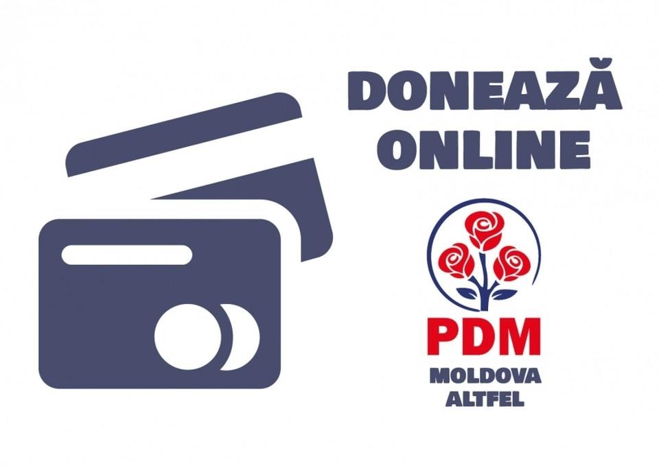 Демократическая партия Молдовы запустила кампанию по сбору средств.