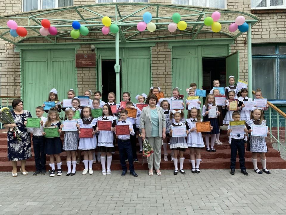 Торжественное вручение сертификатов в школе №47 г. Курска