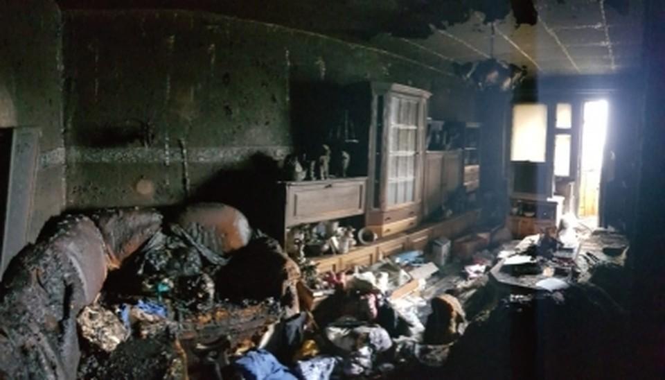 На пожаре в квартире в Сызрани погибла женщина. Фото - следственное управление СК РФ по Самарской области
