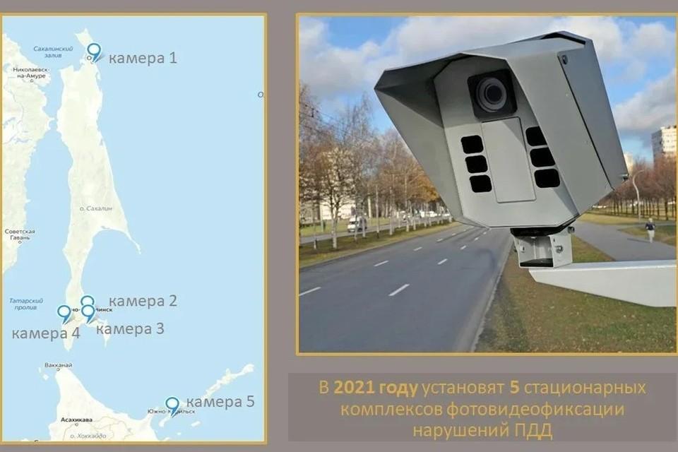 Совместно с УГИБДД по Сахалинской области в министерстве определили точки установки стационарных комплексов