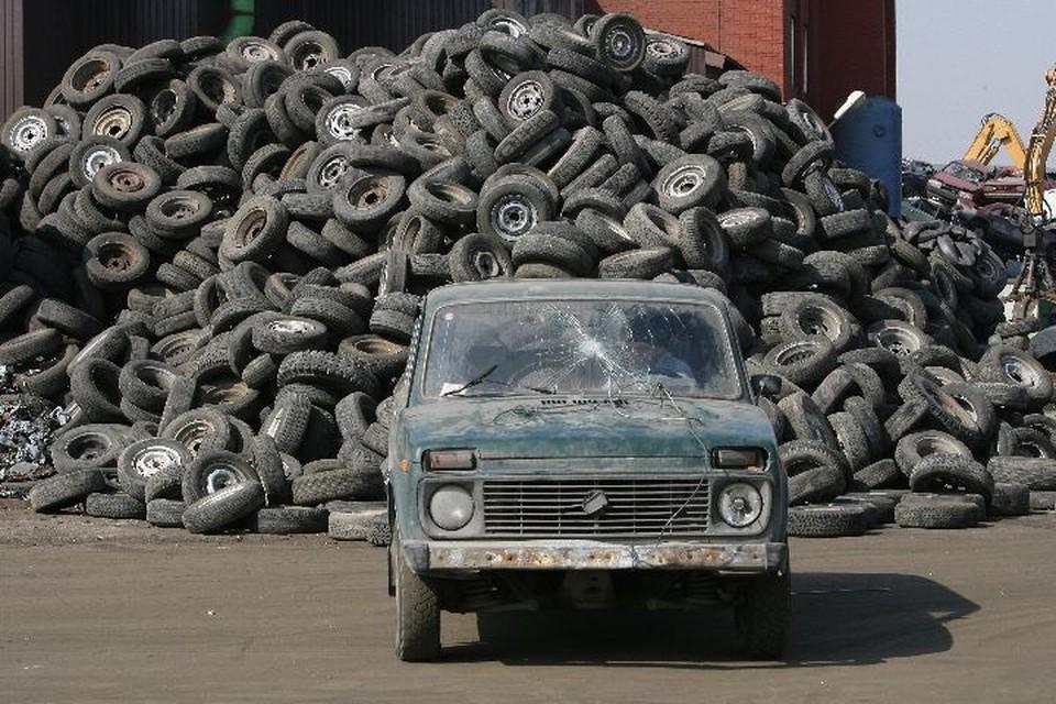 В Ярославле пройдет акция по сбору старых покрышек