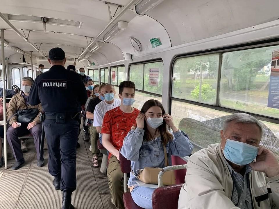 В Самаре в общественном транспорте нужно ездить в масках