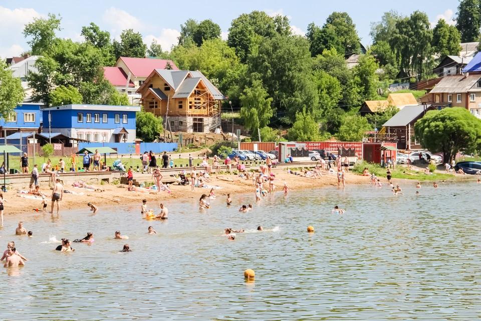 На всех пляжах уже дежурят спасатели Пермской городской службы спасения