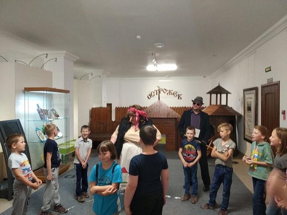 """Юные тюменцы посмотрели игровую программу в День защиты детей. Фото предоставлено """"КП""""."""