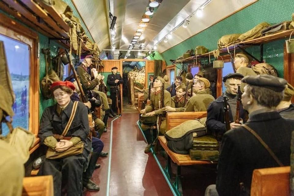 В Орел прибудет иммерсивная инсталляция «Поезд Победы». Фото: https://vk.com/poezdpobedy