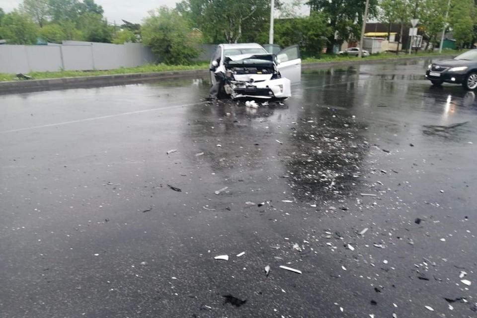 Человек погиб, виновный скрылся: в Хабаровске произошло смертельное ДТП Фото: ГИБДД Хабаровска