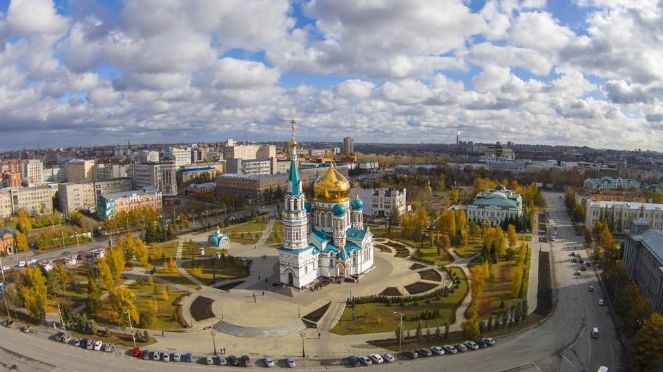 В Омске этой ночью похолодает до +9. ФОТО: Аэрокадр