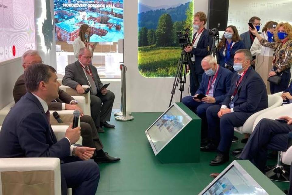 В экспертной панели принял участие Игорь Кобзев. Фото: пресс-служба правительства Иркутской области.