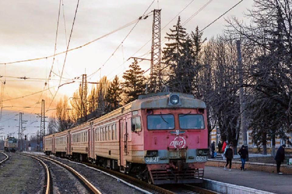 Раньше пассажирского сообщения между Никитовкой и Дебальцево не было, здесь ходили только грузовые поезда. Фото: ГП «Донецкая железная дорога»