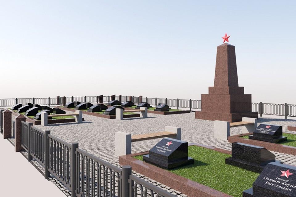 Воинское захоронение приведут в порядок к ноябрю этого года. Фото: Администрация города Апатиты