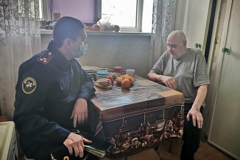 В суд направили дело грабителя, напавшего на 95-летнего ветерана Великой Отечественной войны. Фото: СК России по Красноярскому краю и Республике Хакасия