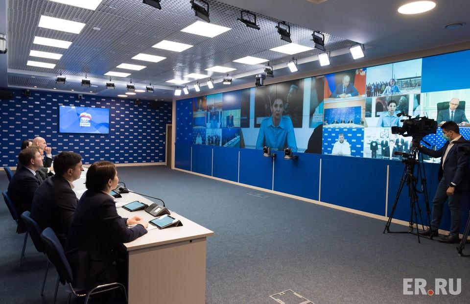 Встреча Президента РФ с общественниками - победителями предварительного голосования.