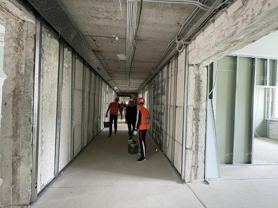 Завершение строительства намечено на ноябрь. Фото: sev.gov.ru