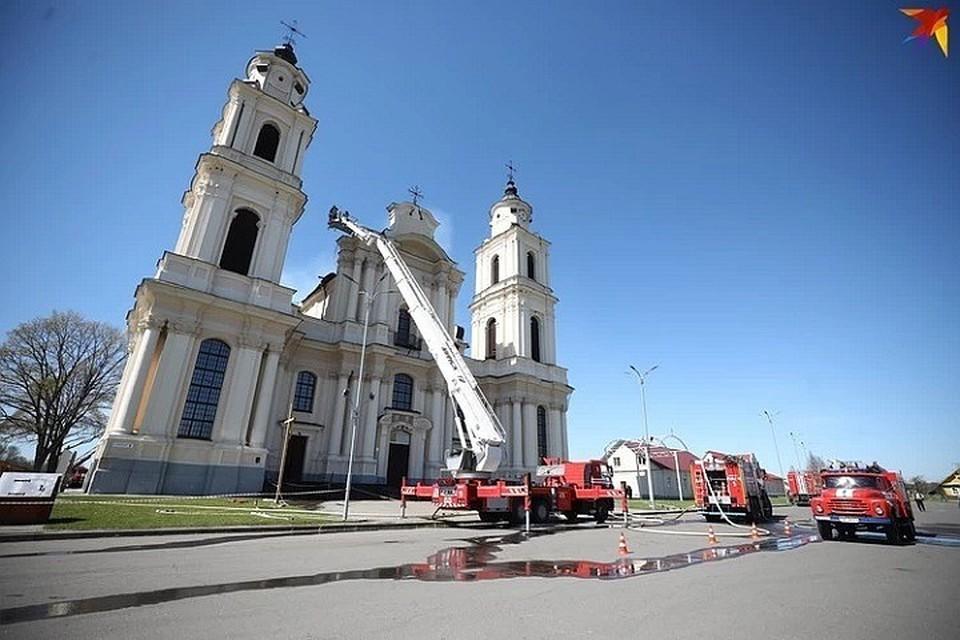 На восстановление костела в Будславе собрали уже около 635 тыс. рублей