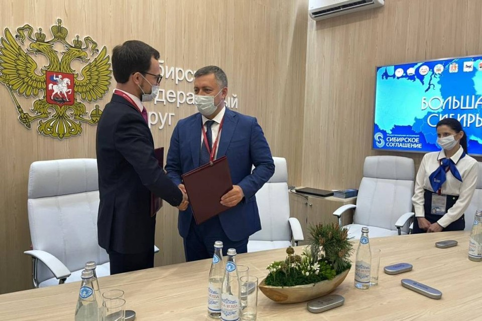 Иркутская область подписала новые соглашения на экономическом форуме в Санкт-Петербурге. Фото: пресс-служба правительства Иркутской области.