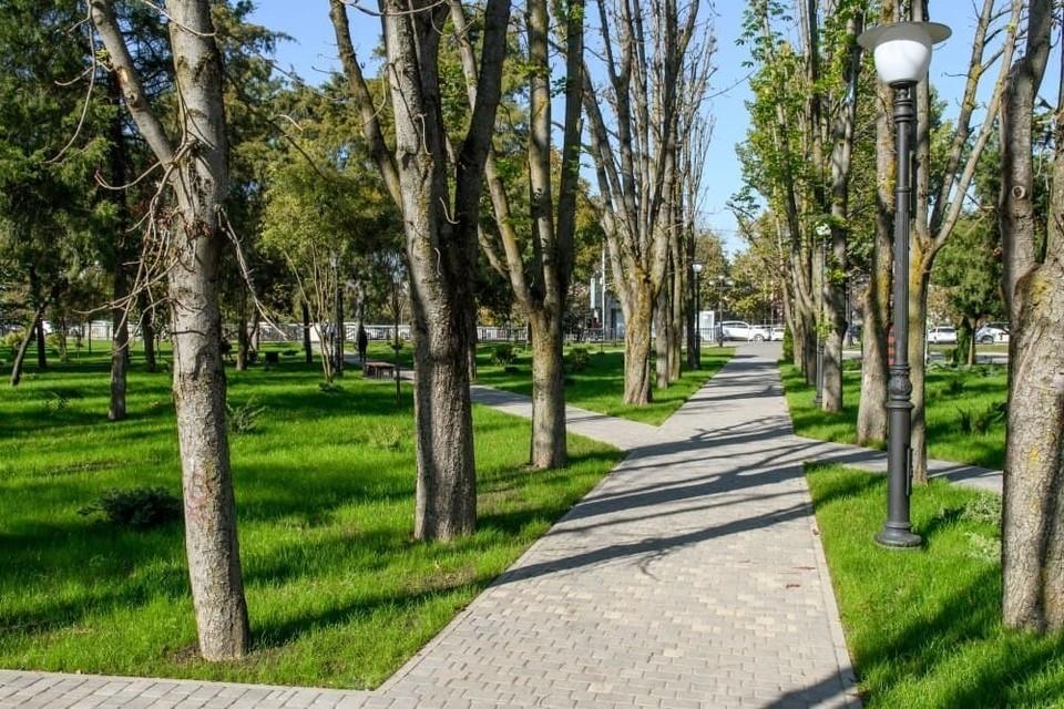 Какие зеленые зоны благоустроят в 2022 году. Фото: krd.ru