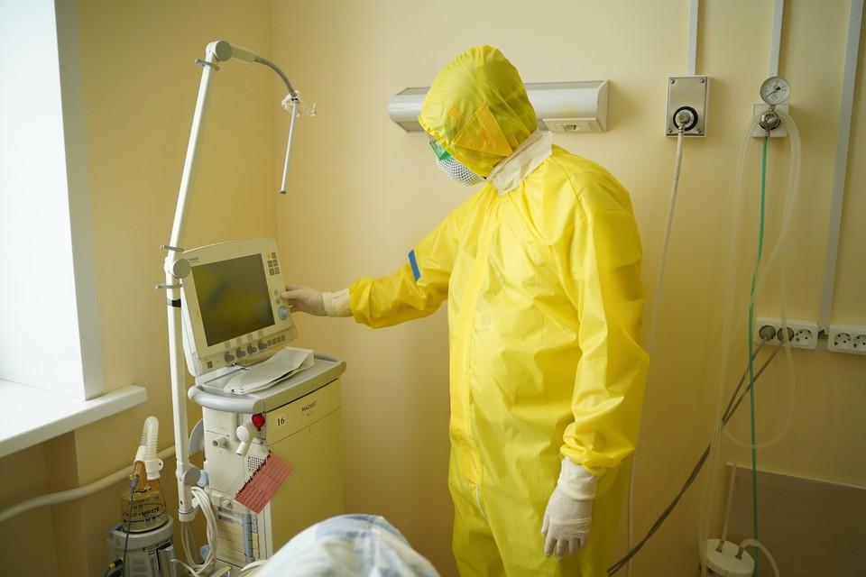 В больницах сейчас лечат 1 037 инфицированных пациентов