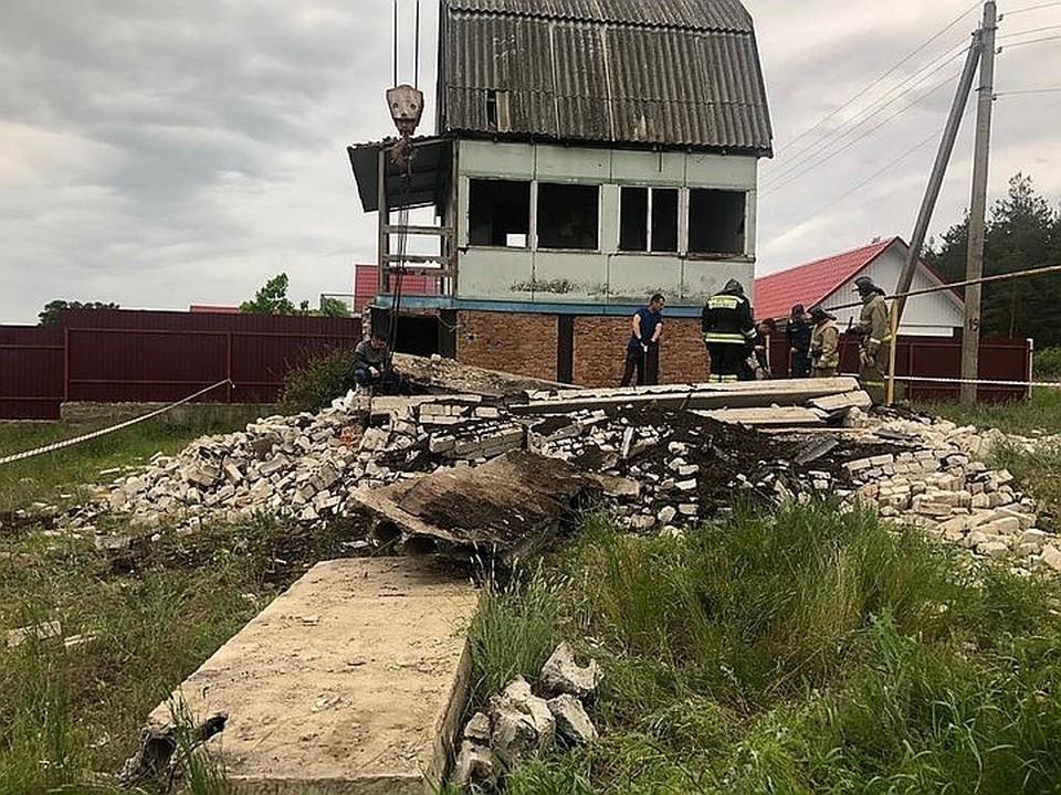 Фото с места трагедии предоставлено прокуратурой Воронежской области