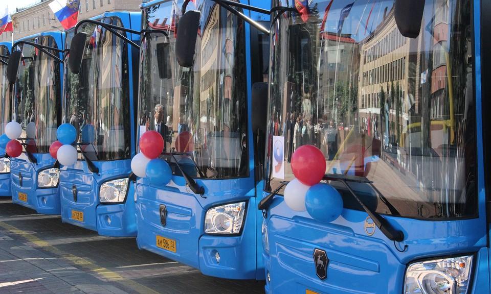 В Брянске работу автобусов продлят до полуночи.