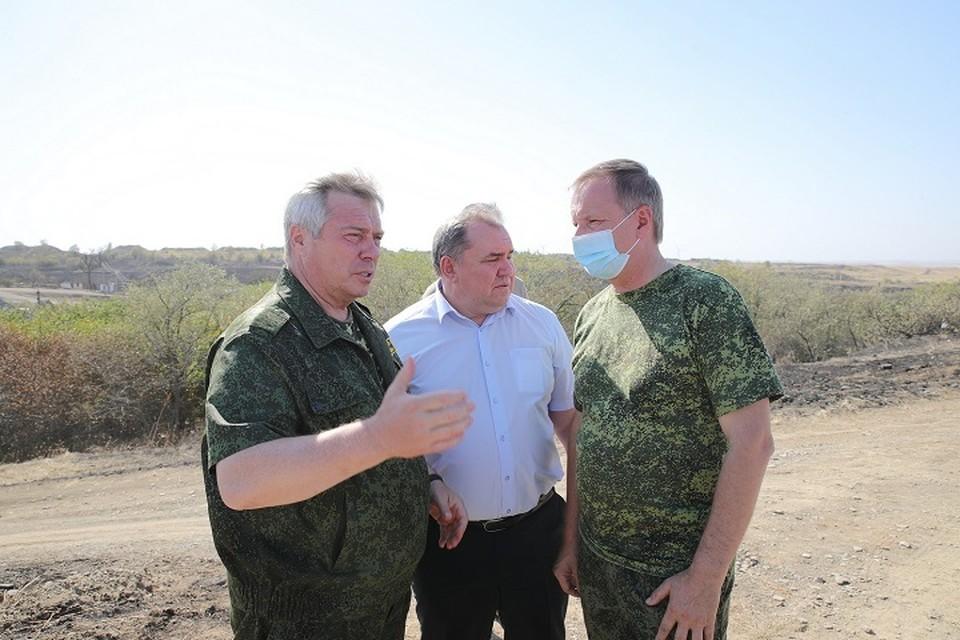 в декабре прошлого года пяти погорельцам направили по 1 млн 200 тысяч рублей Фото: сайт правительства РО