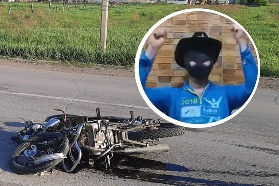Автор оскорбительных постов создал фейковую страничку с этим фото. Фото: Соцсети // ГИБДД по Новосибирской области.