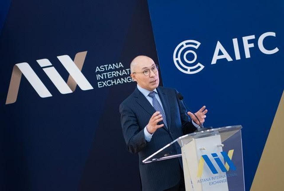 Кайрат Келимбетов, управляющий Международным финансовым центром «Астана»