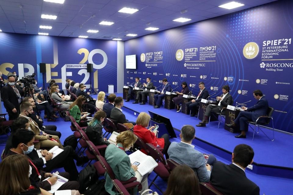 На полях ПМЭФ эксперты из ЕЭК, ВШЭ, Wildberries и Ozon обсудили перспективы и проблемы развития интернет торговли до 2025 года.