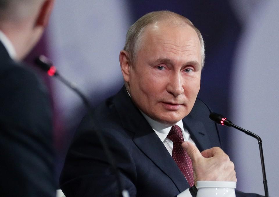 Владимир Путин ответил на вопрос японского журналиста о Курильских островах