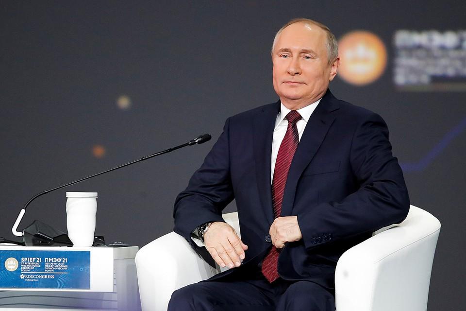 Путин: Россияне смогут более свободно посещать другие страны не раньше сентября