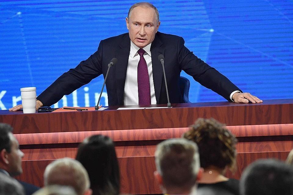 Путин: Лукашенко не сажал самолет Ryanair в Минске, решение принял командир лайнера