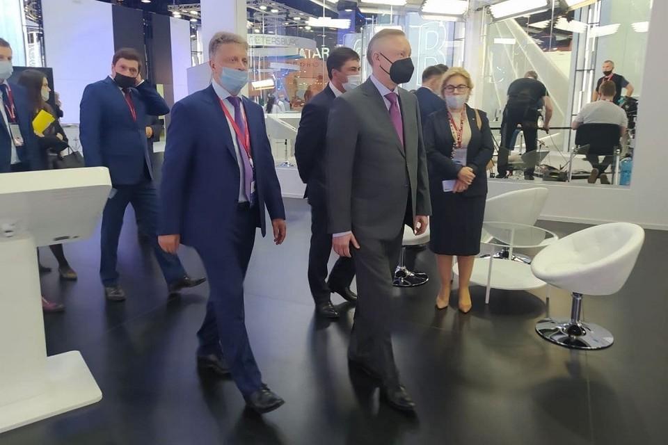 Губернатор подвел итоги ПМЭФ-2021 для Петербурга.