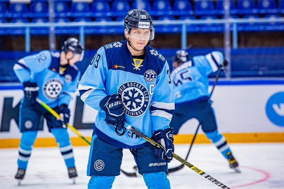 Значительную часть карьеры Санников провел в «Сибири» Фото: ХК «Салават Юлаев»