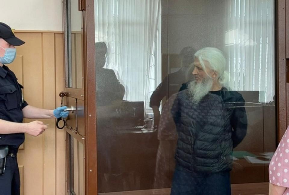 Бывший схиигумен находится в изоляторе с конца декабря прошлого года. Фото: Басманный суд Москвы