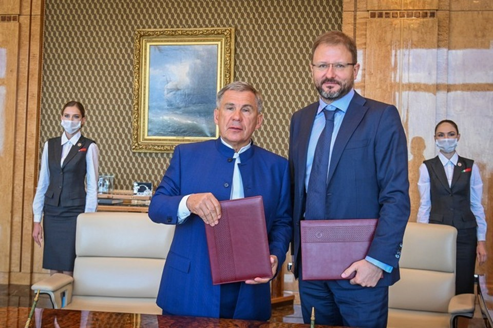 Фото: пресс-служба президента Татарстана.