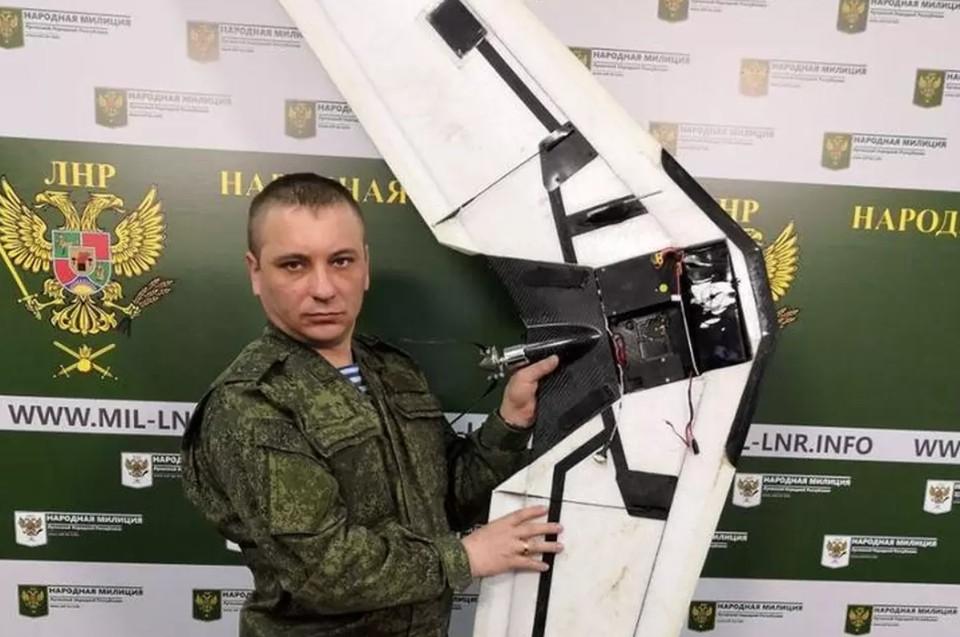 Военным ДНР не в первый раз удается обезвредить беспилотник-разведчик ВСУ. Фото: ЛИЦ