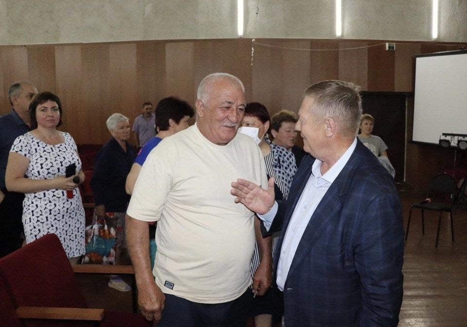 Депутат ГД Николай Панков на встрече с жителями