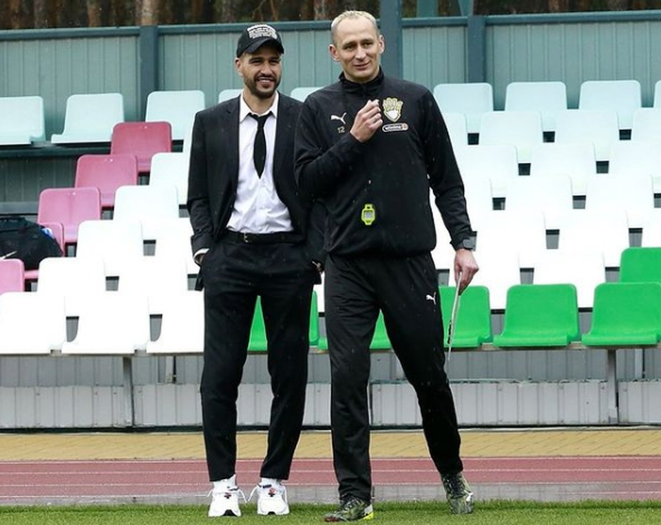 Евгений Савин (слева) и Сергей Рыжиков. Фото со страницы Сергея Рыжикова в инстаграм.